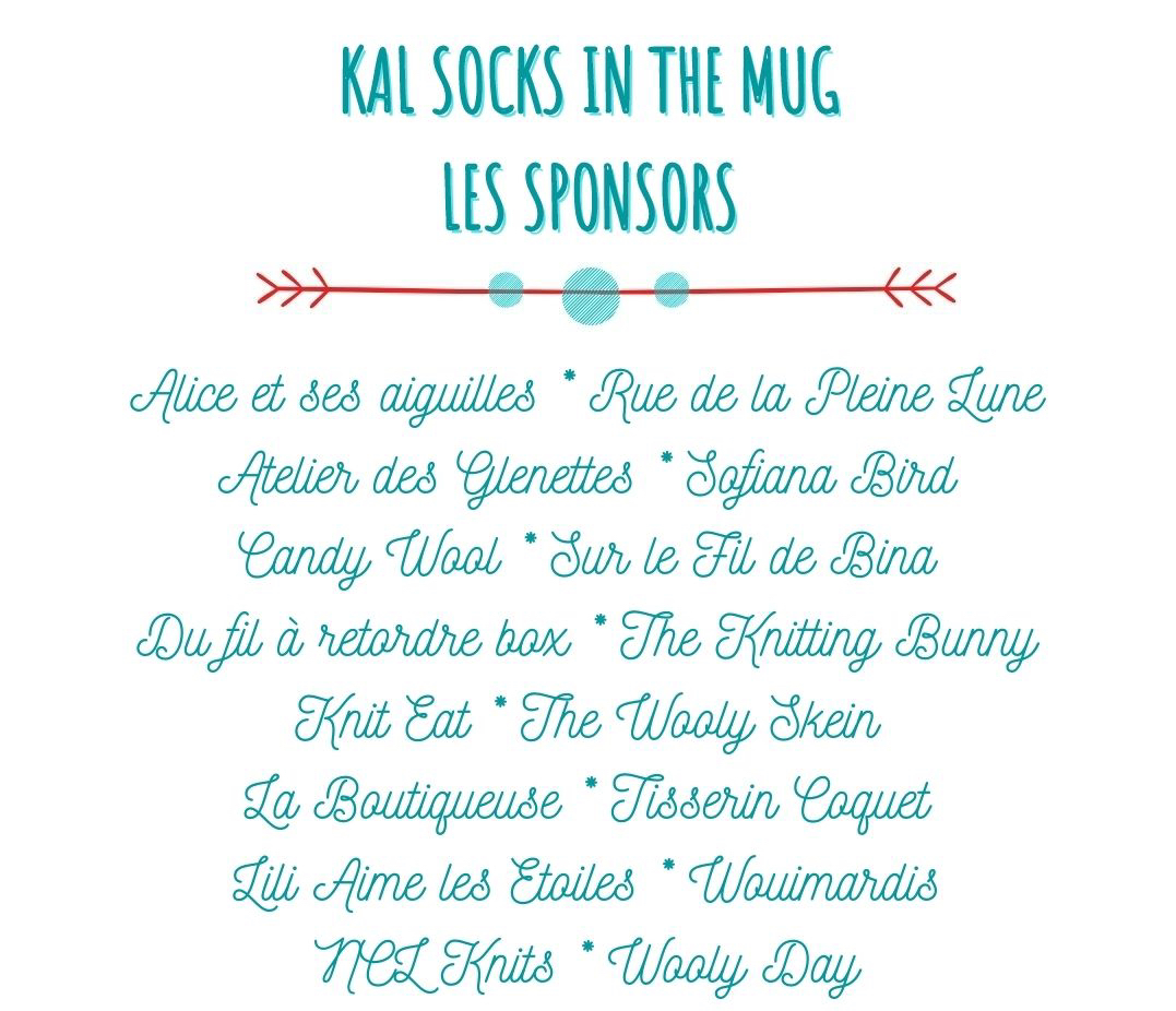 KAL SOCKS IN THE MUG LES SPONSORS